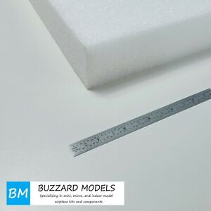 "EPP Foam Sheets White 2"" (50mm) Thick #1.3 Density 12"" x 36"""