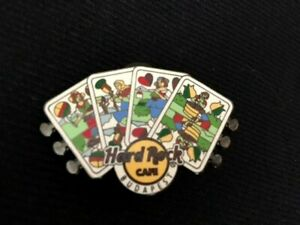 Hard Rock Cafe BUDAPEST 2013 PLAYING CARDS Pin Badge