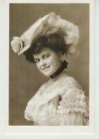 Woman in Retro Hat Vintage Fashion, New York, 1902  Reprint Photo Postcard
