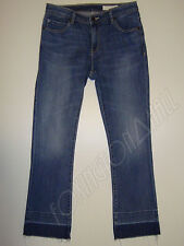 "BEAUTIFUL SASS&BIDE WASHED INDIGO CROPPED&FLARED JEANS 28 ""INKED ROSE"""