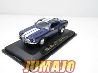 SHE6 voiture 1/43 ROAD Signature : FORD Mustang GT500 KR 1968 bleu