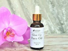 Glow Up Face Oil Facial Serum Squalane Rosehip Oil Normal Skin Moisturizing