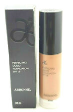 ARBONNE PERFECTING LIQUID FOUNDATION SPF15 TOFFEE BRONZE 30ML FREE UK DELIVERY