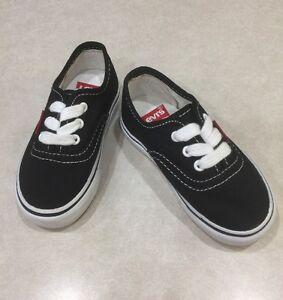 "LEVI STRAUSS ""Jordy Buck"" Toddler Black Tennis Shoes~~Size 6"