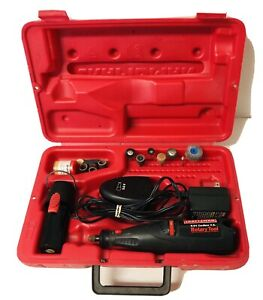 Sears Craftsman Cordless Rotary Tool 9.6v Battery w/ Charger & Case 572.610880