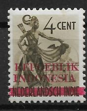 Ned. Indie Repoeblik Indonesia Java- Madoera Zonnebloem 22