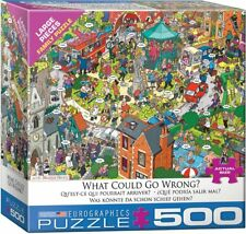 What Could go Wrong? by Martin Berry 500-Piece Puzzle
