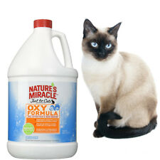 1 Gallon Natures Miracle Oxy Safe Natural Pet Pee Stain & Odor Remover Cats Dogs
