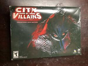 City Of Villains Collectors DVD Edition Box