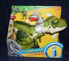 IMAGINEXT MEGA MOUTH T-REX JURASSIC WORLD FISHER PRICE 2018