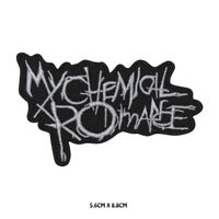 My Chemical Romance Music Band Embroidered Patch Iron on /Sew On Badge