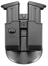 Fobus 6945 Paddle Doppel Magazin Holster Halfter S&W, H&K, Walther 45 cal.