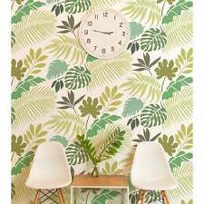 Tropical Dreams Allover Stencil - DIY Beach Decor - Reusable Wall Stencils