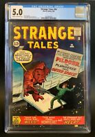 Strange Tales 94 CGC 5.0 Kirby Monster Cover