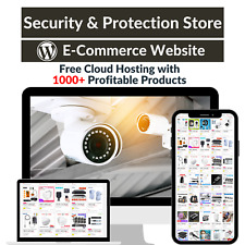 Security & Protection Amazon Affiliate Dropshipping Website with 1000 Products
