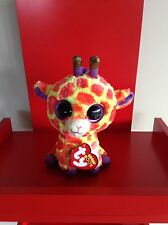 Ty Beanie Boos Darci the giraffe. 6 inch NWMT. IN STOCK NOW.