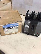 BU-ECA3020 Fuji Circuit Breaker NIB 20A 3 Pole 240VAC