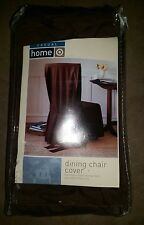 Casual Home Brown Dining Chair Cover Fits Most Chairs Up To 42 Inches
