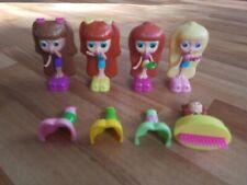 DIVA STARZ Doll Lot Of 4 Mattel 2001 McDonald's