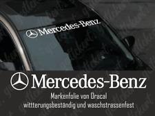 100 cm Mercedes Benz Frontscheiben Sticker Aufkleber AMG Tuning Auto
