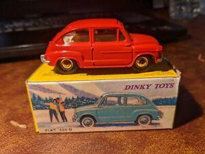 Dinky Toys 520 - Fiat 600D - diecast model car