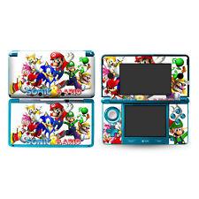 Sonic super MARIO DECAL Skin Sticker Cover for Nintendo Original 3DS skin 196