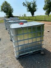 IBC tanks 1000L (galvanised stainless steel case)
