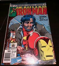 Iron Man #128 FN+ Demon In A Bottle Alcoholism Story Marvel