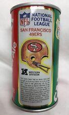 Vintage NFL 1976 Canada Dry Ginger Ale San Francisco 49ers Helmet Empty Can