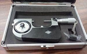"""1-2"""" Indicating Micrometer, Indicator Snap Micrometer, 0.00005"""" ,#415-755--NEW"""