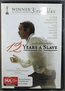 """12 YEARS A SLAVE (DVD, 2014) BRAND NEW / SEALED """"REGION 4"""""""