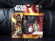 BB-8 FINN figure giocattolo di Natale Playskool Star Wars Eroi Galattici ultimi Jedi REY