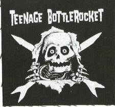 Teenage Bottlerocket Boned Out Cloth Sew On Patch fat wreck chords nofx rancid
