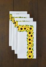 "Sunflower Garden Signature Collection 18"" x 18"" Napkins - 4 Pack"