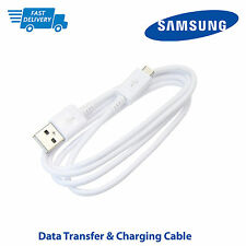 Genuine USB Charger Charging Cable Sync Lead For Samsung Galaxy S2 S3 S4 S5 Mini