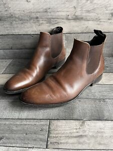 russell bromley - Chelsea Boots - Brown Leather - Size 9.5 UK