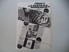 advertising Pubblicità 1967 LAVATRICE RIBER
