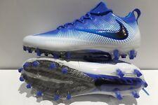 NIKE VAPOR UNTOUCHABLE PRO Size 10.5 Blue White 833385-400 Mens Football Cleats