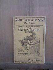 Carte Routière N°25 Alsace-Lorraine