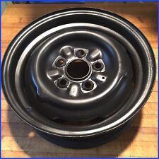 """1968-69 MUSTANG V8 (5 lug) OEM  6"""" X 14"""" STEEL ROAD WHEEL (5"""" bead to bead) NICE"""