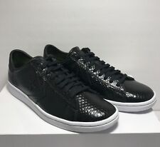 Converse Womens Size 8.5 Pro Leather LP Scale Low Top Snake Black Shoes Sneakers
