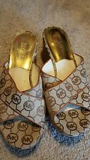 michael kors wedge sandals 6