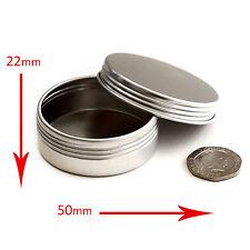 50 x 20ml Empty Cosmetic Screw Top Pots/Jars/Tins Creams craft  *BEST BUY* jja50