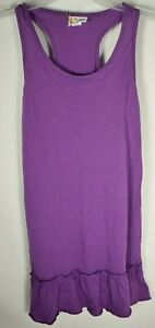 O'Rageous-Girls Racerback Tunic/Coverup-Bright Violet-Size (M) 10/12 New w/ tags