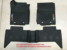 Genuine Toyota 2016 & Newer Tacoma TRD PRO All Weather Rubber Floor Liners/Mats