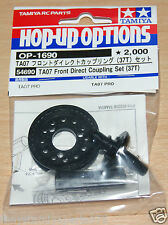 Tamiya 54690 TA07 Front Direct Coupling Set (37T) (Spool) (TA07 Pro/TA07R), NIP
