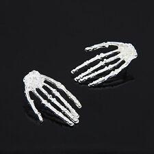 Punk Skeleton Skull Hand Ear Stud Gothic Rock Bone Skull Hand Earrings Pop
