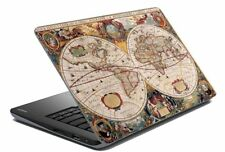 """Map Laptop Skin Notebook Skin Sticker Cover Art Decal Fits 14.1"""" to 15.6""""10p"""