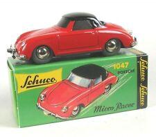 Porsche 356 Coupè (rosso/nero) Micro Racer 1047