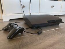 Playstation 3 Slim PS3 160GB + 2 Sing Star-Mikrofone + 8 Spiele